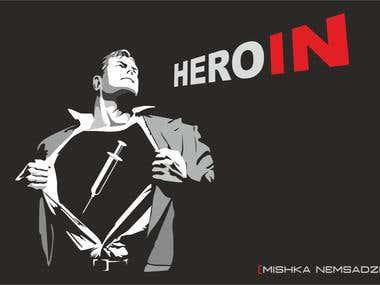 Superman Illustration (Hero_In)