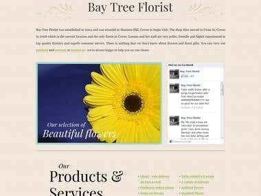 Isle of Wight Bay Tree Florist in Cowes