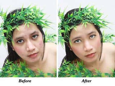 proffesional photo retouch