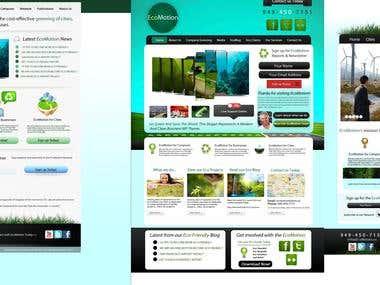 EcoMotion Web Design