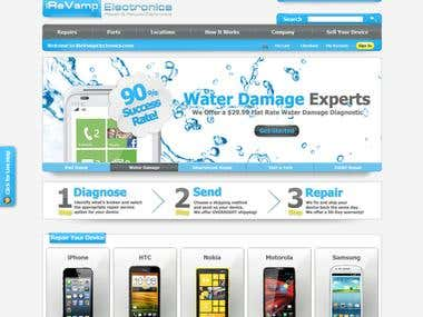 Highly customized Magento store