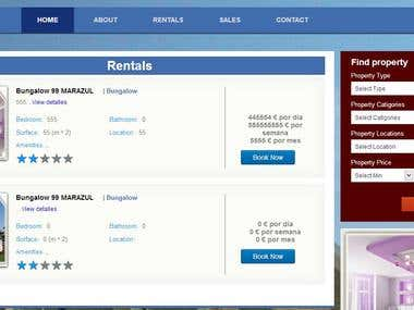 Sell & Rent Properties Website