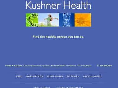 Kushner Health- Nutritionist & Alergist