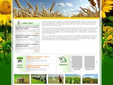 Website for Agrotech
