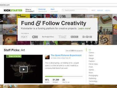 Kickstrater.com