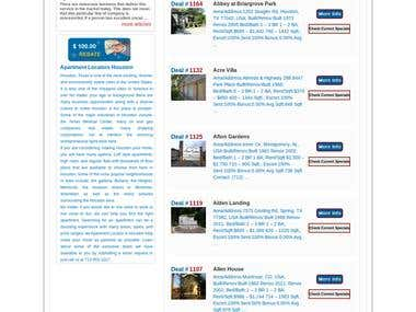 Realestate website