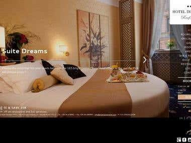 Italian Hotel Booking Site - PSD to WordPress - Responsive