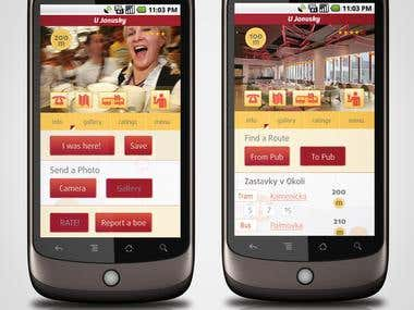 restaurant app for the iphone ipad and android phone