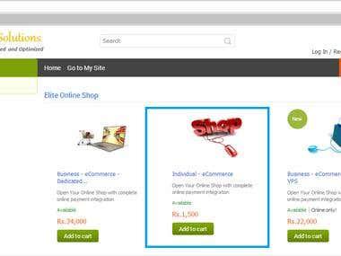 eCommerce - Individual