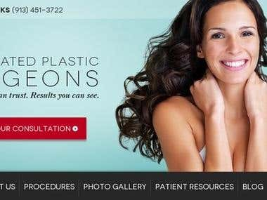 Web Design for Leawood Surgons