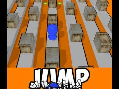 Jump - new 3d Flash game