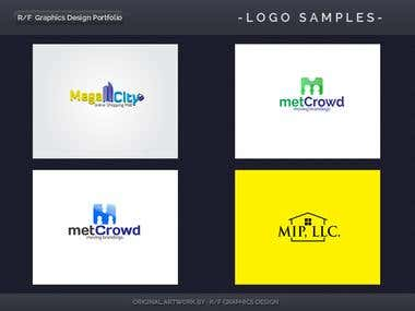 R/F Graphics Design Logo Portfolio 8