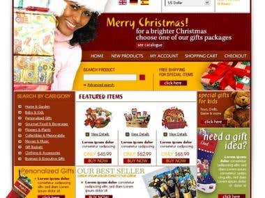 Christmas Gift Store SEO & Marketing Project
