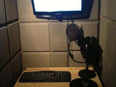 my recording booth