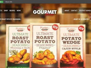 Ecommerce Store for Gourmet