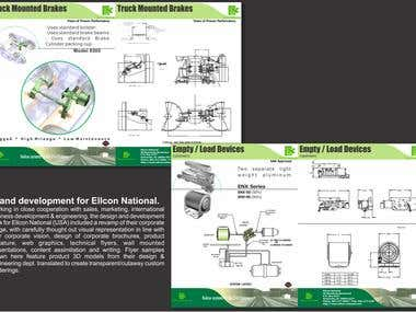 Print Design (technical flyers)