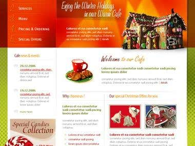 Sweet Cafe Restaurent Site Search Engine Optimization