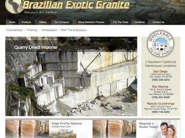 A Wordpress site for Brazilian client