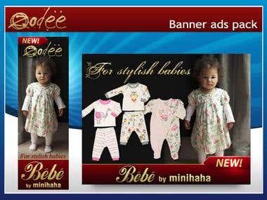 Zodee web banner ads
