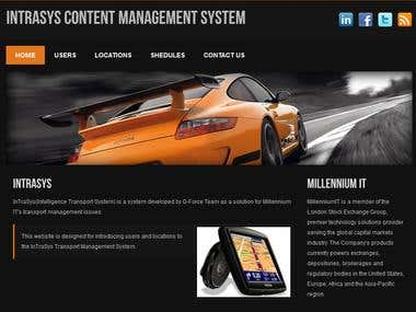 IntraSys Content Management System
