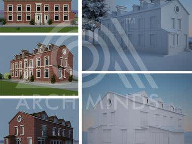 House 3D modeling