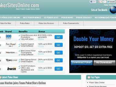wordpress site from scratch