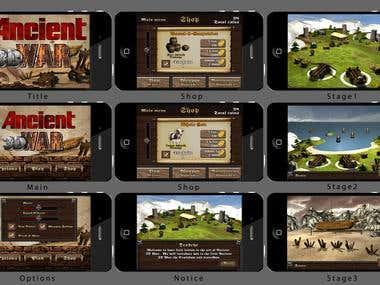 iPhone and Android Games
