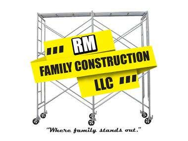 Construction Scaffolding Logo