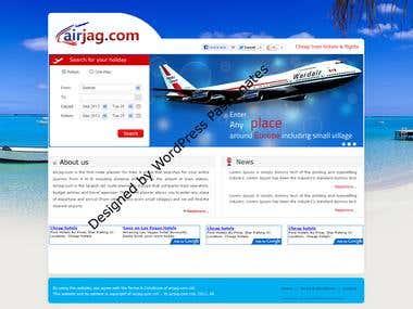 Travel planner for Europe website