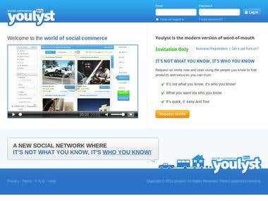 YouLyst - Social Commerce