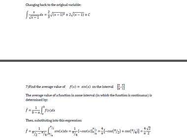 MATH Calculus 2
