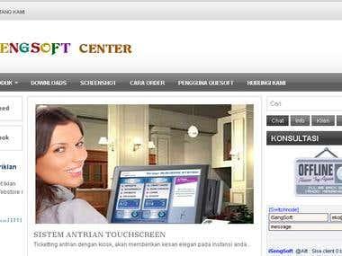 iSengSoft Website
