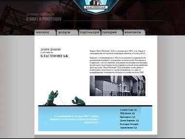 HTML5, CSS3, Javascript Web Design