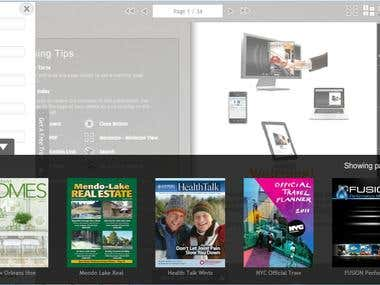 Digital Publishing Application