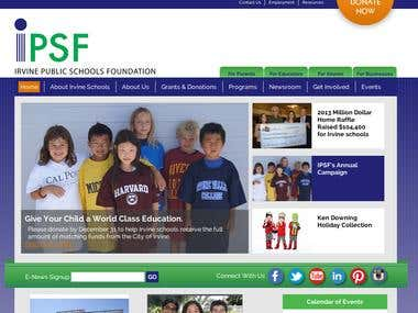 Website Development for IPSF in California