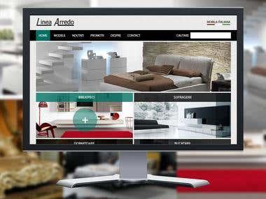 Linea Arredo Webdesing