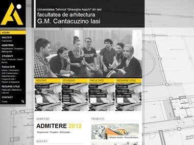 University Presentation Site