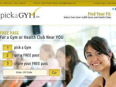 Pick a Gym