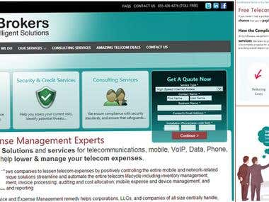 Combrokers Website