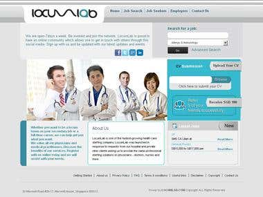 Service/Job Posting Portal