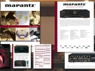 Marantz Full Line Catalog and Sell Sheet
