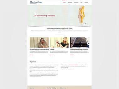 Diseño web: www.marianponte.com
