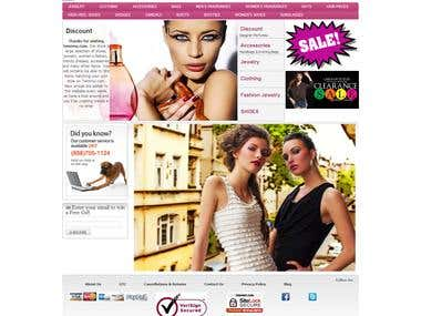 Magento project from psd