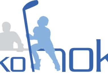 Logo Design: Tylko Hokej