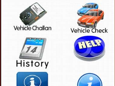 Android App - Vehicle Verification System