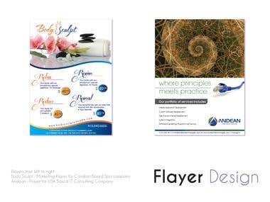 Flayer Design