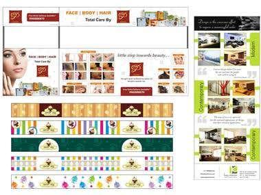 Branding & advertising design