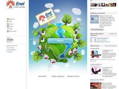 Enel - facebook game
