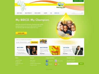 Corporate Website Development - Content Management Website