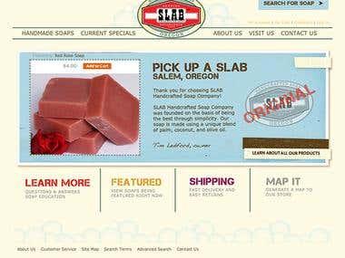 S.L.A.B. Soap Company